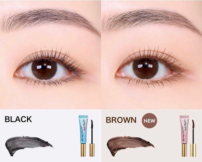 【Milk Touch】『All Day Long and Curl Mascara』