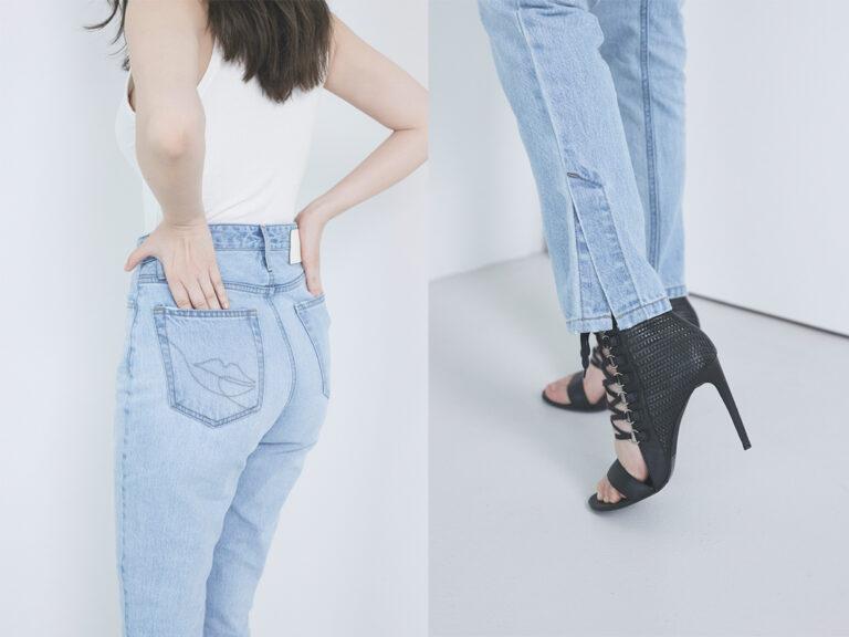 小嶋陽菜【Her lip to】Tokyo High Rise Jeans