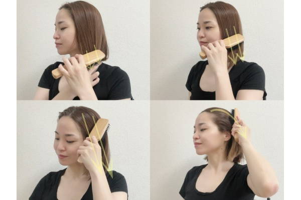 すっきり&ぱっちり目元を作るマッサージ法 髪のブラッシング