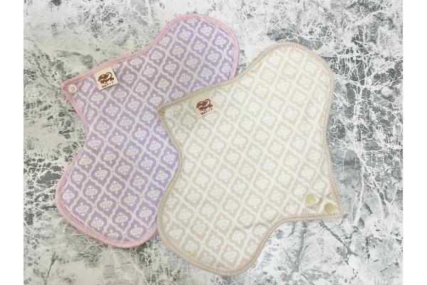 布ナプキン『Baby Hearts 布ナプキン 防水 お試し 3枚セット』のデザイン