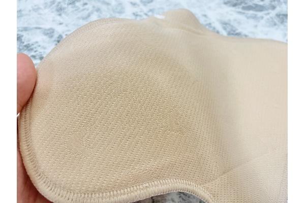 布ナプキン『Baby Hearts 布ナプキン 防水 お試し 3枚セット』 肌面 質感