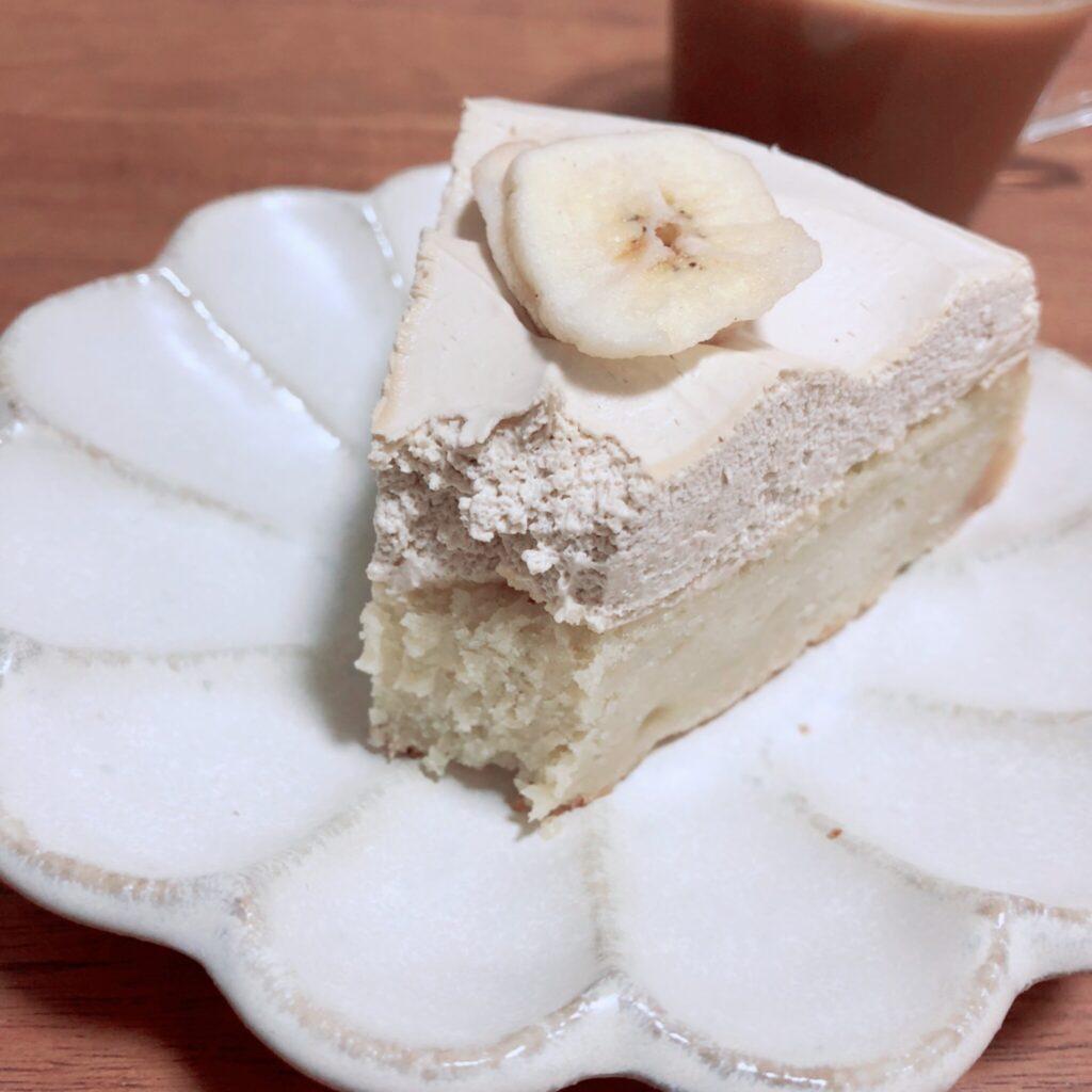 【スタバ】『バナナのアーモンドミルクケーキ』