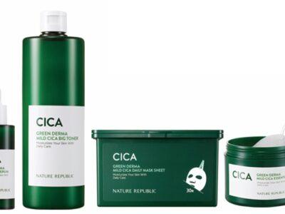 ネイチャーリパブリック 韓国コスメ スキンケア 化粧水 美容液 シートマスク CICA