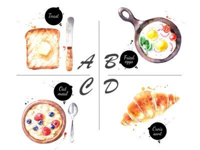 朝食に食べるならどれ? あなたの「めんどくさがり度」がわかる心理テスト