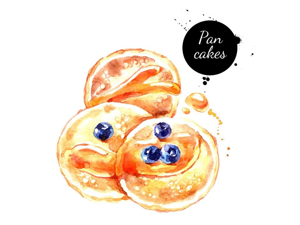 C:パンケーキ