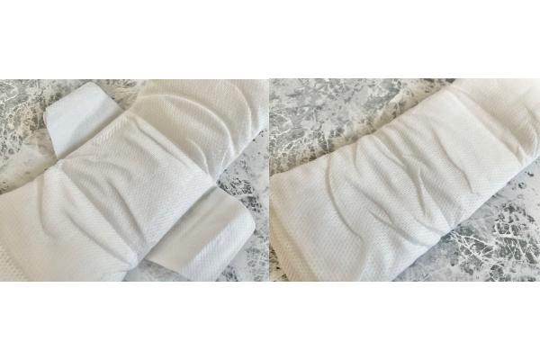 【無印良品】 生理用ナプキン 羽あり 約21cm/羽なし 約23cm 表面