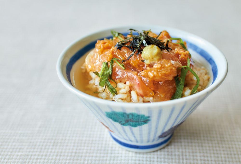 レシピ, 発酵調味料, 醤油麹, ごま, 鯛, 茶漬け