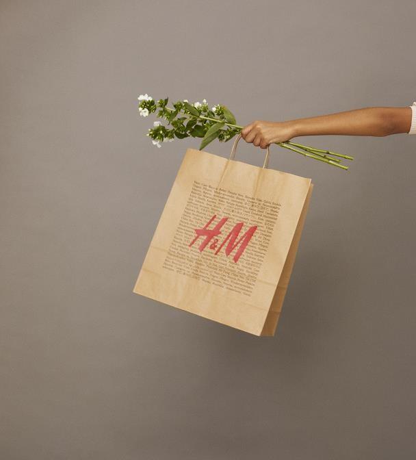 オンラインショッピングの包装も紙製に