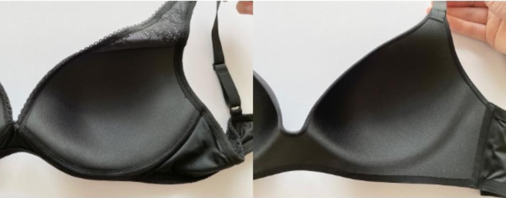 写真左:ユニクロ「シェイプリフト」、写真右:ユニクロ「3Dホールド」